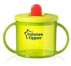 Tommee Tippee First Cup 2 x Green Pack of 2