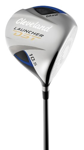Cleveland Launcher DST Draw Driver (Men's Right-Handed, 10.5 Degree Loft, Diamana Red 44 Ultralite Graphite Senior Shaft)