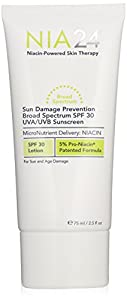 Nia 24 Sun Damage Prevention Broad Spectrum SPF 30 UVA/UVB Sunscreen, 2.5 fl. oz.