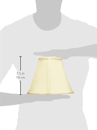 UNO Floor Lamp Eggshell Royal Designs Deep Empire Lamp Shade 5 x 10 x 8