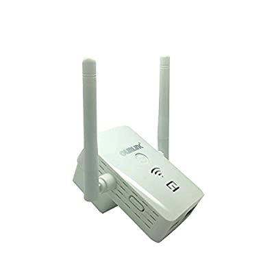 Wireless W163 Wi-Fi Range Extender, Wi-Fi Repeater, Full Coverage Wireless Router Supports AP/ Repeater / Router Mode with Easy WPS Setup, Mode Selector, Wall Plug and LED Indicators
