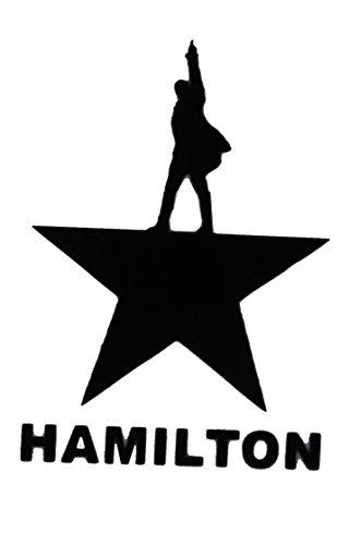 (Alexander Hamilton Vinyl Decal (Black) 75109 5.5