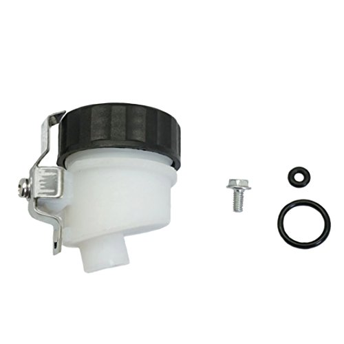 Cbr1000rr Clutch - Lefossi Motorcycle Front Clutch Master Cylinder Clutch Pump Tank Oil Cup Fluid Bottle Reservoir For Honda VTR1000F 1998-2004 RVT1000R 2000-2006 CBR1000RR 2004 2005 2006 2007
