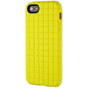Speck Products PixelSkin Rubberized Case for iPhone 5, 5S & SE - Lemongrass Yellow