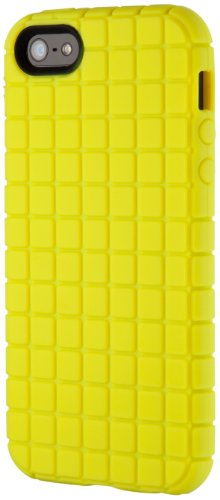 Speck Toughskin Iphone Case (Speck Products PixelSkin Rubberized Case for iPhone 5, 5S & SE - Lemongrass Yellow)