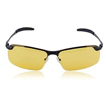 cvbfghgfjhfgjhf Unisex High-End Night Vision Gafas Polarizadas Gafas de Conducción Accesorios Anti-reventón