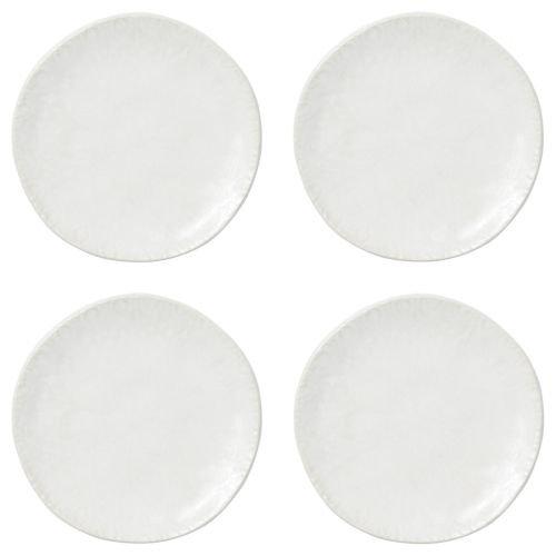 Viva Lace Cocktail Plates - Set of 4 - White