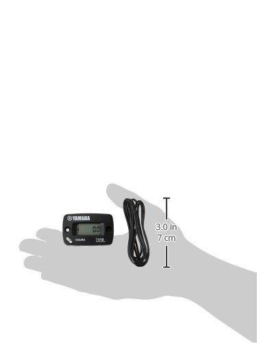 Yamaha ENG-HOURS-00-00 Automatic Standard Hour Meter for Yamaha Grizzly 300 by Yamaha (Image #2)