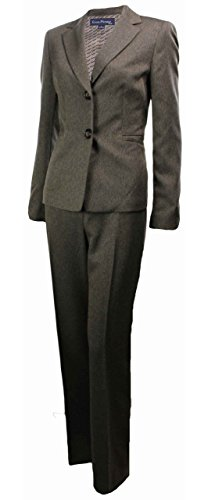 Evan Picone Women's Cranberry Fields Pant Suit Taupe (24W)