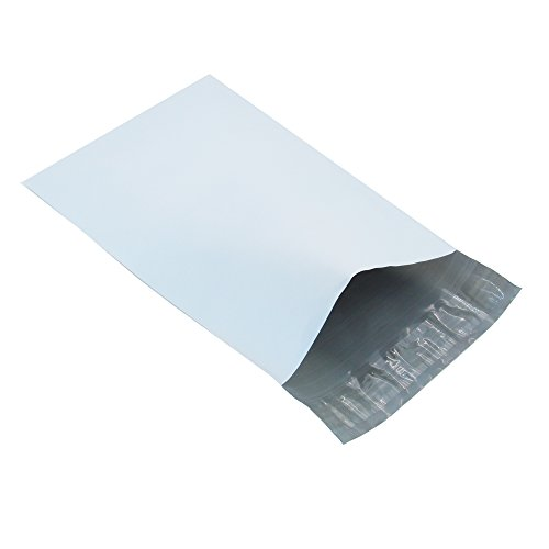 Progo 100 ct 10x13 Self-seal Poly Mailers. Tear-proof - Water-resistant and Postage-saving Lightweight Plastic Shipping Envelopes Bags.