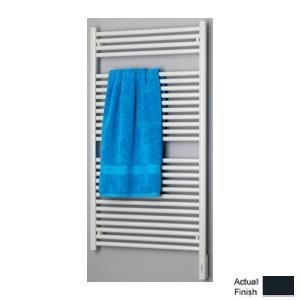 Runtal RTREG-2924-5008 Radia Electric Towel Radiator Plug-In 29-in H x 24-in W Gray Blue 5008 Hydronic Towel Radiator