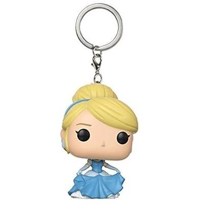 Funko Pop Keychain: Cinderella - Cinderella (Heart Strong/Dancing) Collectible Keychain: Funko Pop! Keychains:: Toys & Games