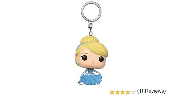 Funko- Pocket Pop Keychain: Disney-Cinderella, Multicolor (21321)