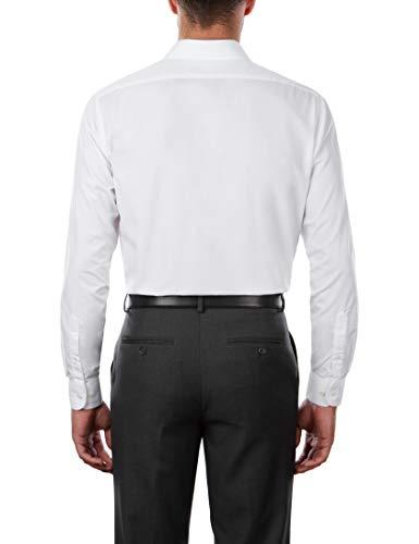 Van Heusen Men's Dress Shirt Regular Fit Poplin Solid 3
