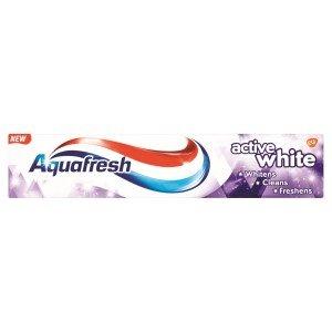 Aquafresh Toothpaste - Active White 125ml (Pack of 12)