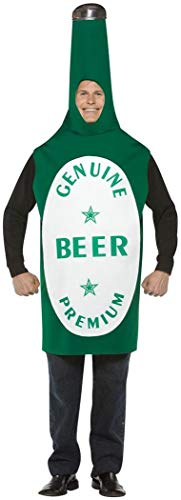 Beer Bottle Adult Costume - One Size ()