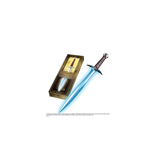 Hobbit Sting Sword FX Illuminating Glows Blue Bilbo Baggins