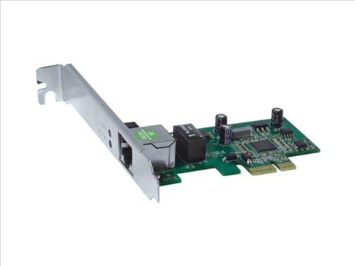 PCI-e X1 RJ45 LAN Card for PC 10//100//1000 Mbps PCIe Netwrok Card with Low Profile Bracket QNINE Gigabit Ethernet Card PCI-e Support Windows XP // 7//8 // 10