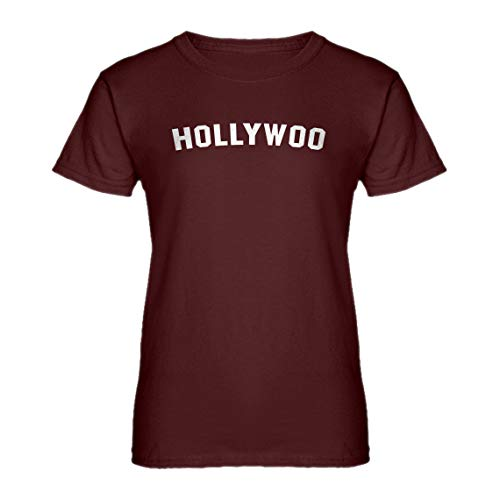 Indica Plateau Womens Hollywoo X-Large Maroon T-Shirt