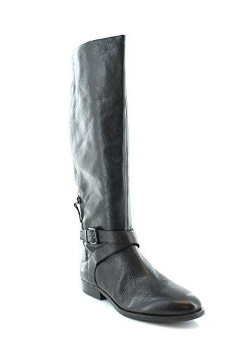 Nine West Women's Virtuous Black 1501/Black Leather Boot 6 M