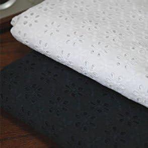 Tela perforada de algodón, ancho de 137 cm, se vende por piezas de 91,4 cm (YH1522): Amazon.es: Juguetes y juegos