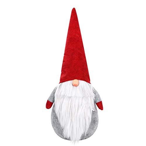 VIASA_ Christmas Doll Set Cute Christmas Plush