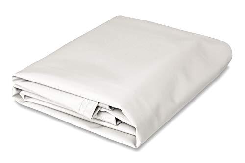 10' x 12' Heavy Duty White Vinyl -