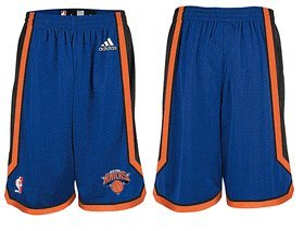 NBA New York Knicks Swingman Uniform Short, Large -