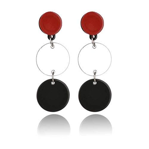 (Statement Earrings for Women Acrylic Boho Fashion)