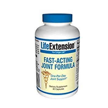 Life Extension Fast-Acting Joint Formula, 30 Capsules (Pack of 3)