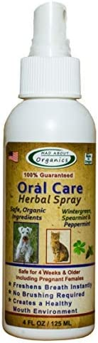 Mad About Organics Oral Care Herbal Spray 4oz