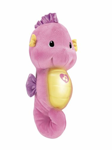 Fisher-Price Ocean Wonders Soothe and Glow Seahorse Pink w/