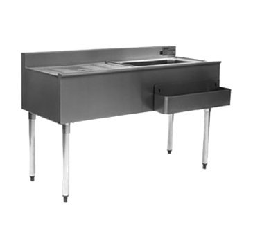 Eagle CWS5-18L-7 1800 Series Underbar Cocktail Workstation (Cocktail Workstation Series Underbar)