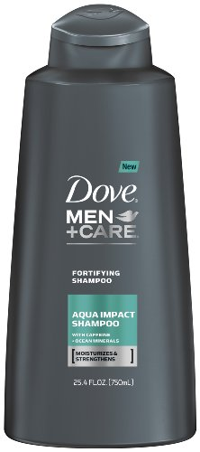 Dove Men + Care Shampooing, Aqua Impact, 25,4 Fluid Ounce