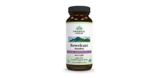 Organic India Bowelcare Capsules Constipation product image