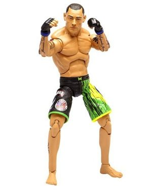UFC Ultimate Fighting Jakks Pacific Series 3 Deluxe Action Figure Thiago Silva