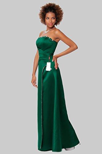 SEXYHER Herrliches bodenlangen Strapless Brautjungfern formales Abend-Kleid - EDJ1590 Huntergreen KlZUx9UgC5