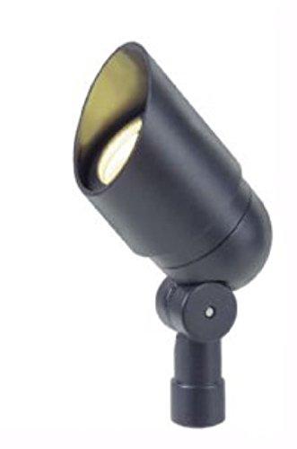 12V Landscape Lighting LED Directional Bullet Light in Black Finish (BPL101BLKLED) ()