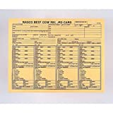 Nasco's Beef Cow Record Cards - C12428N