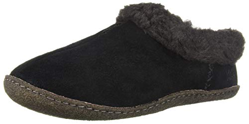 Sorel Women's Nakiska Slipper, Black, 7 M US