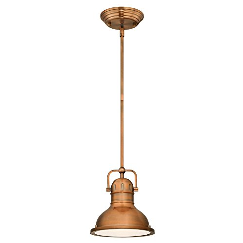 Copper Finish Pendant Light