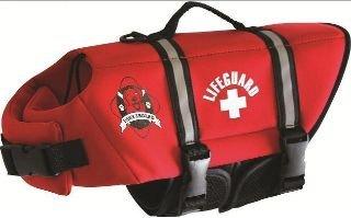 Neoprene Doggy Life Jacket- Red (XS (7-15 lbs))