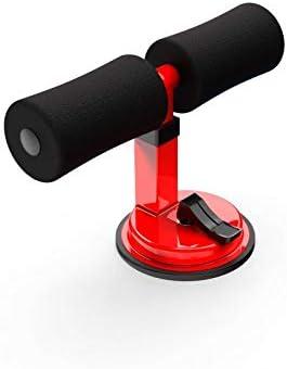 ATAA Soporte de Abdominales con Ventosa SitUp Maquina de Fitness y Gimnasio en casa Rojo