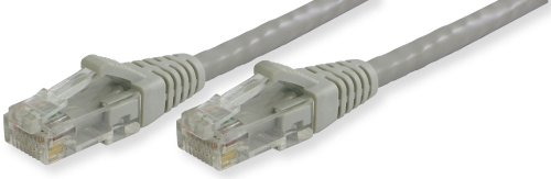 Lynn Electronics OLG20CGYG-080 Optilink CAT6 Made in the USA Snagless Ethernet Cable, 80-Feet, Gray