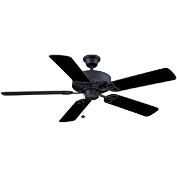 Harbor breeze classic 52 in antique bronze downrod or close mount harbor breeze 52 classic style matte black ceiling fan reversible blades black energy mozeypictures Gallery