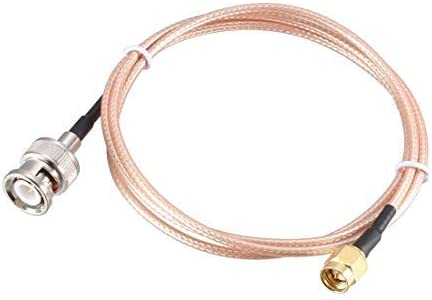 NA RG316 coaxial Cable with BNC Male to SMA Male 0.61M 2Ft connectors