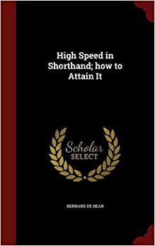 High Speed in Shorthand: how to Attain It