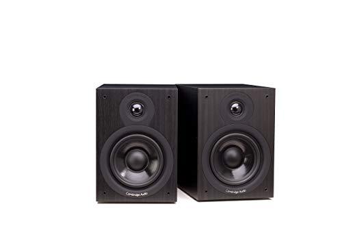 Cambridge Audio SX-50 – Altavoces (Tabletop/bookshelf, Universal, 2-way, 50 – 22000 Hz, Black, Wired)