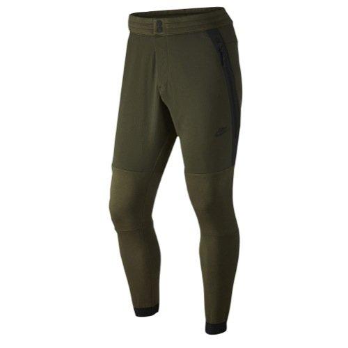 Nike Tech Fleece 2 Men's Pants Cargo Khaki/Black Size Small