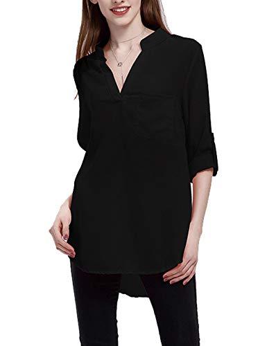 Le Camicie in Ufficio Mettermi al Lavoro al Massimo La Camicia di Taglia Uniforme Black